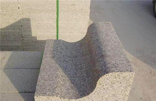 五莲红S型路沿石